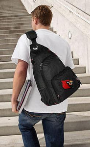 Louisville Cardinals Embroidered Backpack