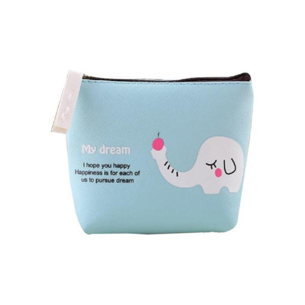 2017 New Brand Women Boys Girls Cute Cartoon Animal Coin Purse Wallet Bag Change Pouch Key Holder As A Gift For Children A7