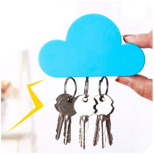 Cloud Shape Magnetic Magnets Wall Key Holder Powerful Storage Tool