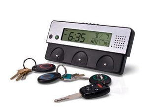 Clock/Key Holder with Voice Recorder