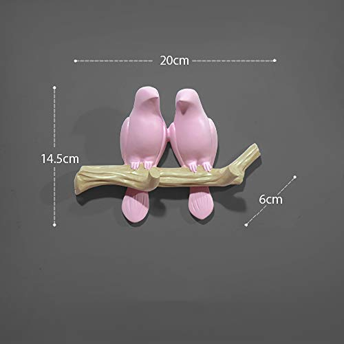 Birdie Hat Hanger, Creative Coat Hook, Door Wall Decoration Hook,D