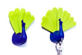 Peacock Key Holder