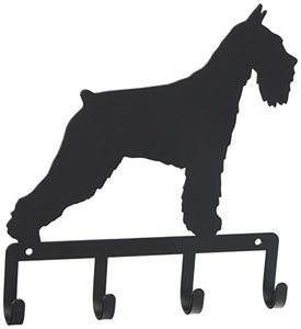 7.75 Inch Schnauzer Key Holder