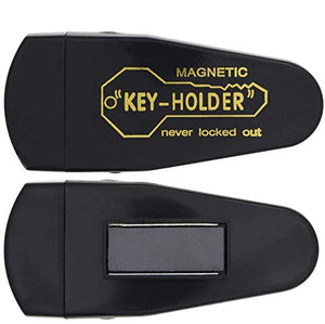 3 Large Magnetic Hide-A-Key Holder for Over-Sized Keys - Extra-Strong Magnet