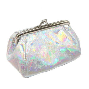 #5001 HOT SELLING Online Casual Girls Reflector Laser Coin Purse Bag Change Pouch Key Holder FREESHIPPING