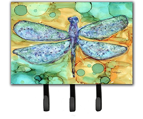 Caroline's Treasures Abstract Dragonfly Leash or Key Holder 8967TH68, Triple, Multicolor