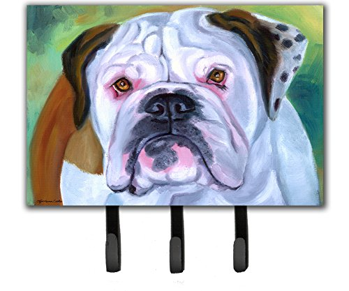Caroline's Treasures 7350TH68 Miss English Bulldog Leash or Key Holder, Large, Multicolor