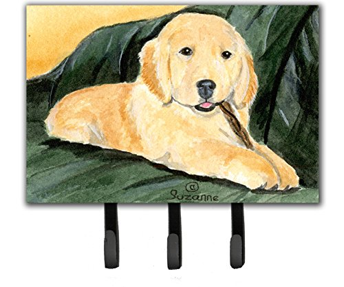 Caroline's Treasures SS8761TH68 Golden Retriever Leash Holder or Key Hook, Large, Multicolor