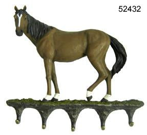 Bay Horse Key Holder