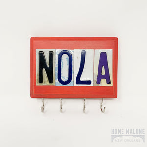NOLA License Plate Key Holder