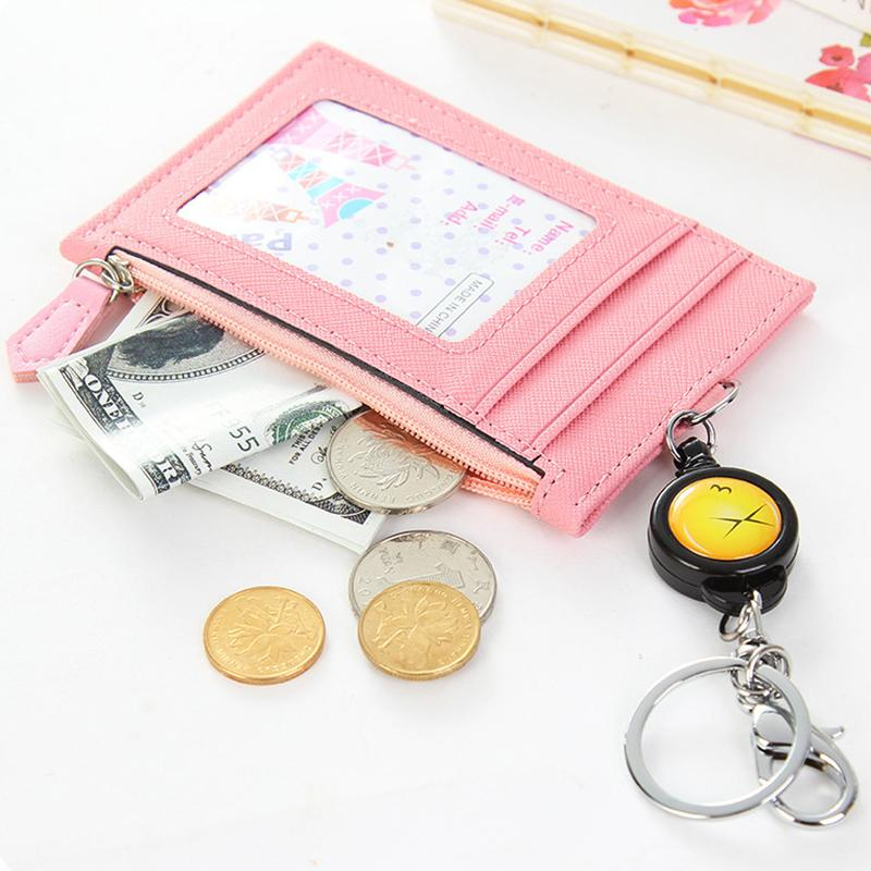 Card&Key Holder Wallet Purse Casual Zipper Bag