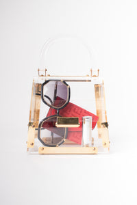 Lucite Box Bag