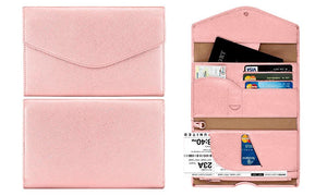 Tri-Fold Passport Travel Organiser