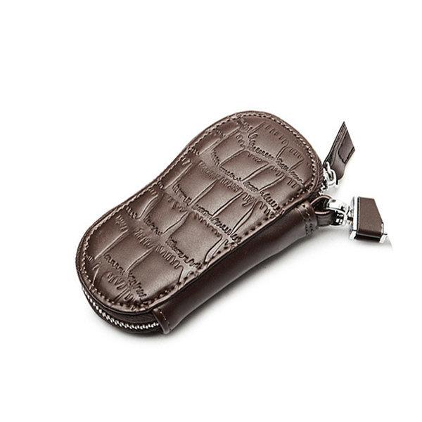 Portable PU Leather Key Holder Heart-shaped Casual Clutch Wallet For Women Men