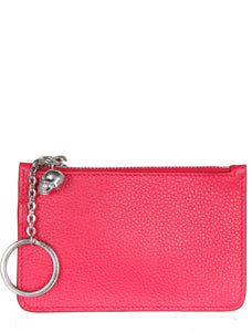 Small Key Holder Pouch, Pink