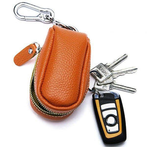 Unisex Genuine Leather Car Key Holder  Holder Purse Bag