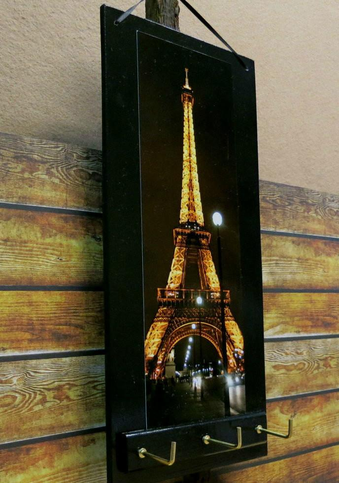 Eiffel Tower Key Rack Holder