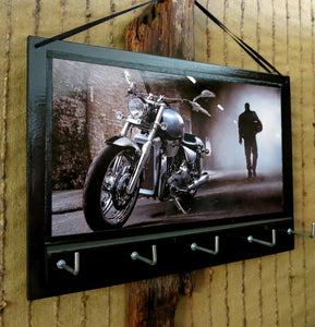 Harley Davidson Motor Bike Key Rack Holder