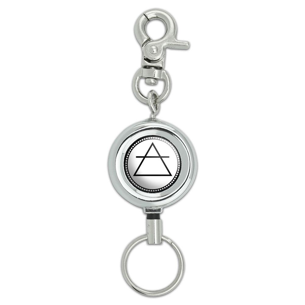 Alchemy Air Symbol Lanyard Belt ID Badge Key Retractable Reel Holder