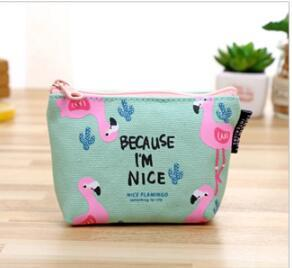 eTya 1PCS Small Cute Kids Women's Purse Coin Wallet  Coin Purse Money Pouch Cactus Change Pouch Key Holder Bag