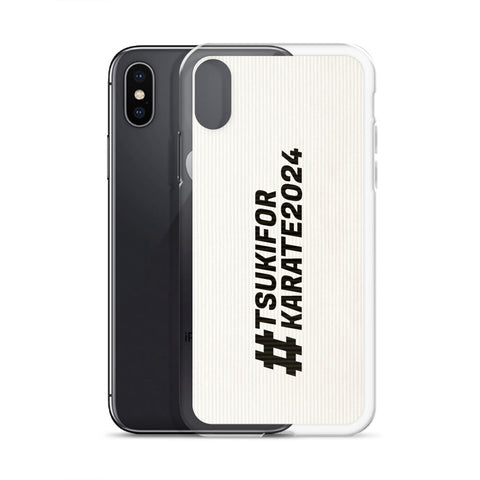 Karate 2024 Support iPhone Case