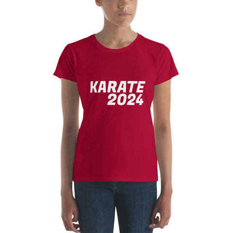 Karate 2024 Support Women's t-shirt