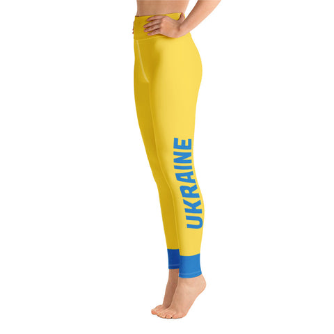 Sport Leggings Team Ukraine