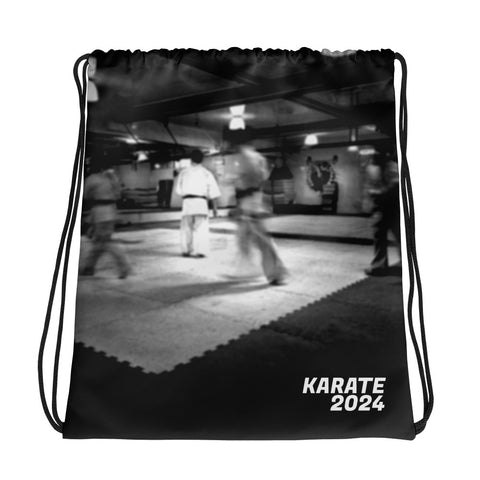 Knockout Drawstring bag