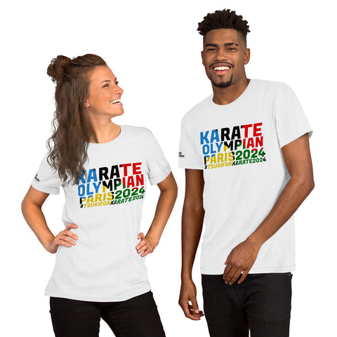 Karate Olympian Short-Sleeve Unisex T-Shirt