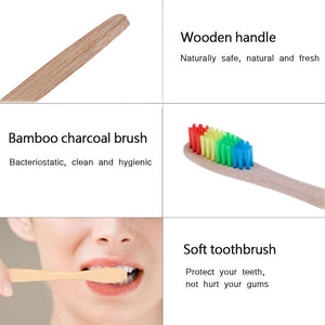 Natural Bamboo Handle Toothbrush