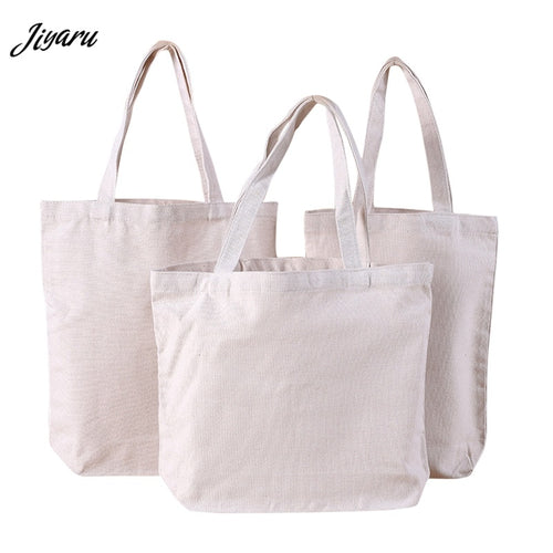 Canvas Reusable Tote Bag.