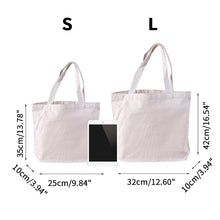 Load image into Gallery viewer, Canvas Reusable Tote Bag.