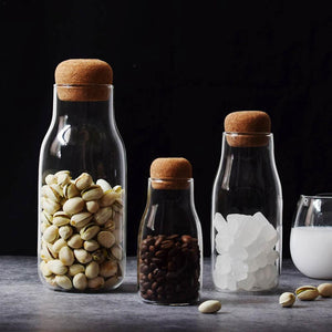 Creative Glass Storage Jars For Bulk Products