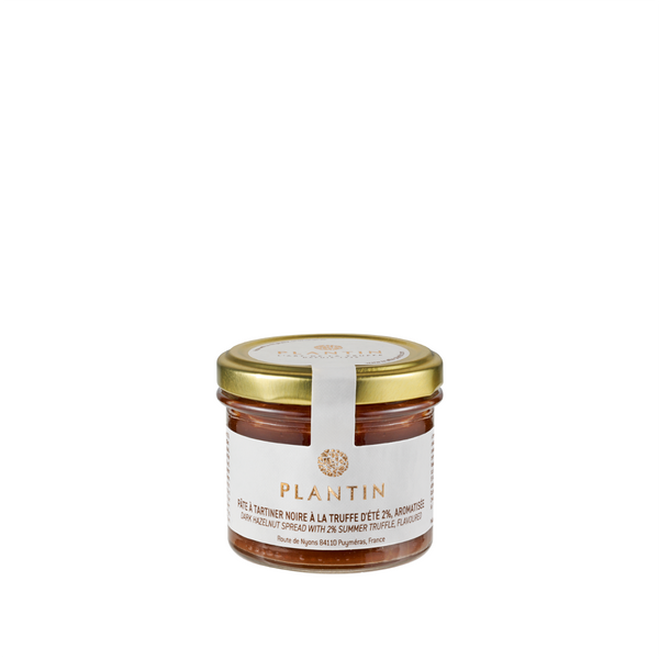 Black summer truffle chocolate spread
