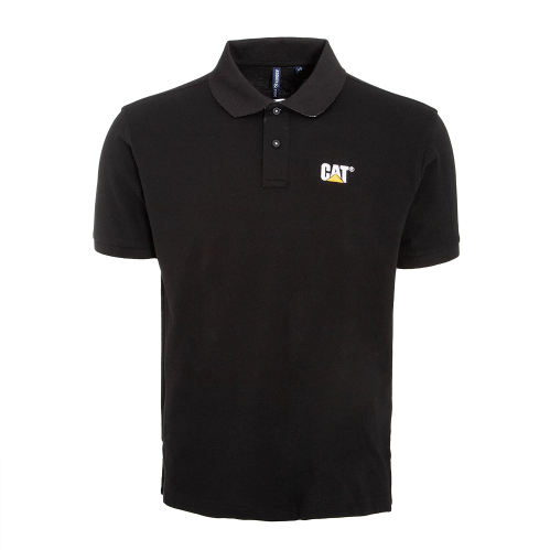 MEN'S CLASSIC FIT CONTRAST BLACK POLO