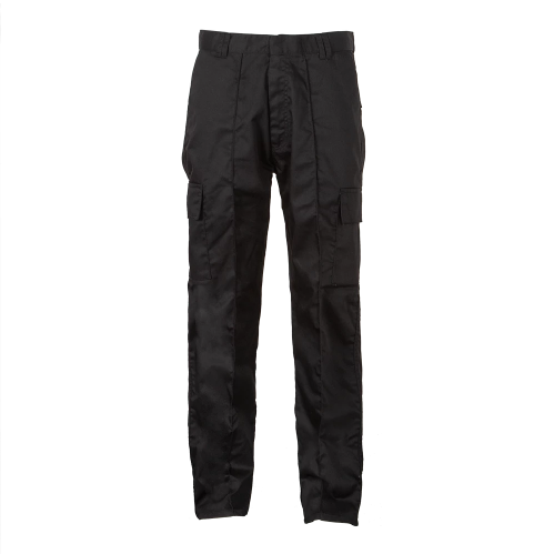 Men's Fit Black Cargo Trouser