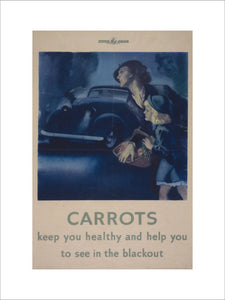 Carrots Keep You Healthy and Help You to See in the Blackout