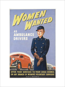 Women Wanted - as Ambulance Drivers