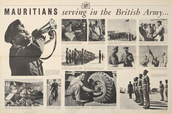 Mauritians Serving in the British Army