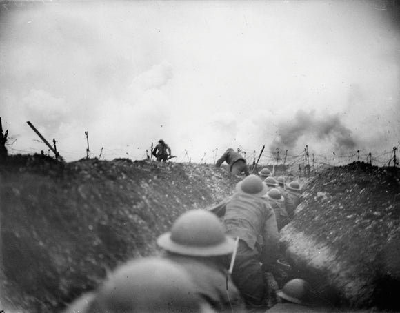 10th Battalion, Cameronians near Arras, 1917