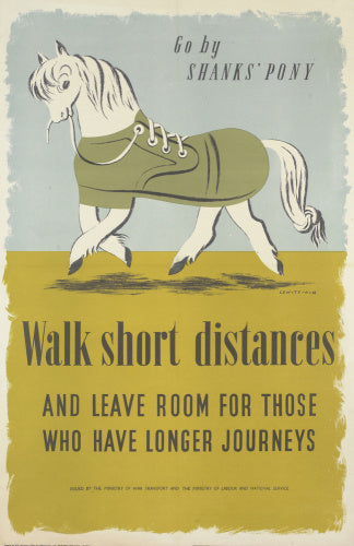 Go by Shanks' Pony - Walk Short Distances