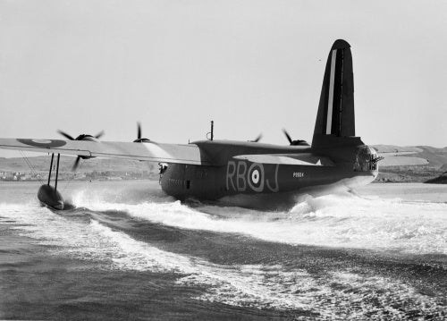 A Short Sunderland Mk I of No. 10 Squadron RAAF, based at Oban in Scotland, August 1940.