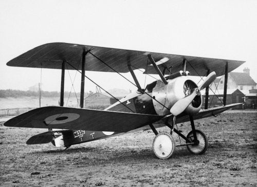Sopwith F1 Camel, single-seat scout.