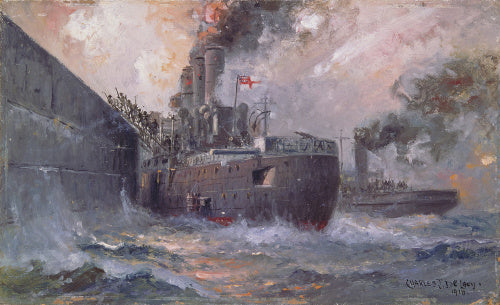 The 'Vindictive' at Zeebrugge: The storming of Zeebrugge Mole