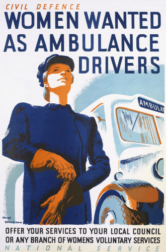 Women Wanted as Ambulance Drivers