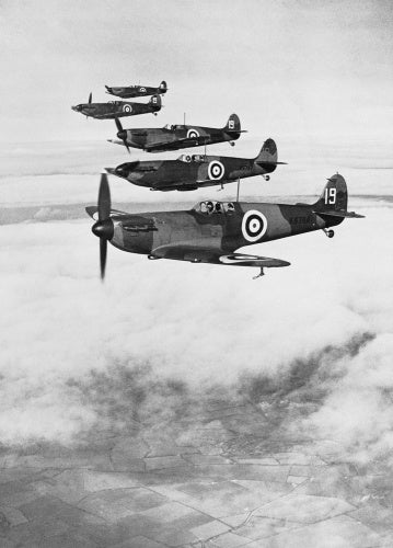 The Supermarine Spitfire, 1938