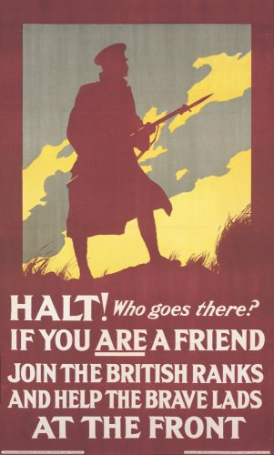 Halt! Who Goes There? - Join the British Ranks