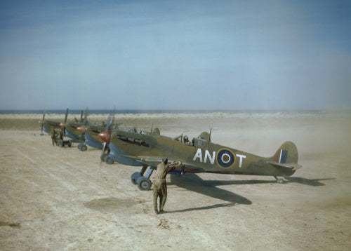 Flight Lieutenant W H Pentland, of No 417 Squadron, Royal Canadian Air Force