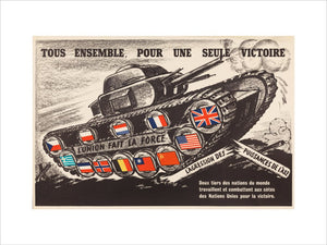 Tous ensemble pour une seule victoire [All together for a single victory]