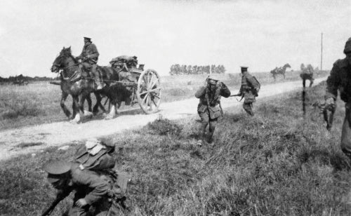The first battle of the Marne. September 1914